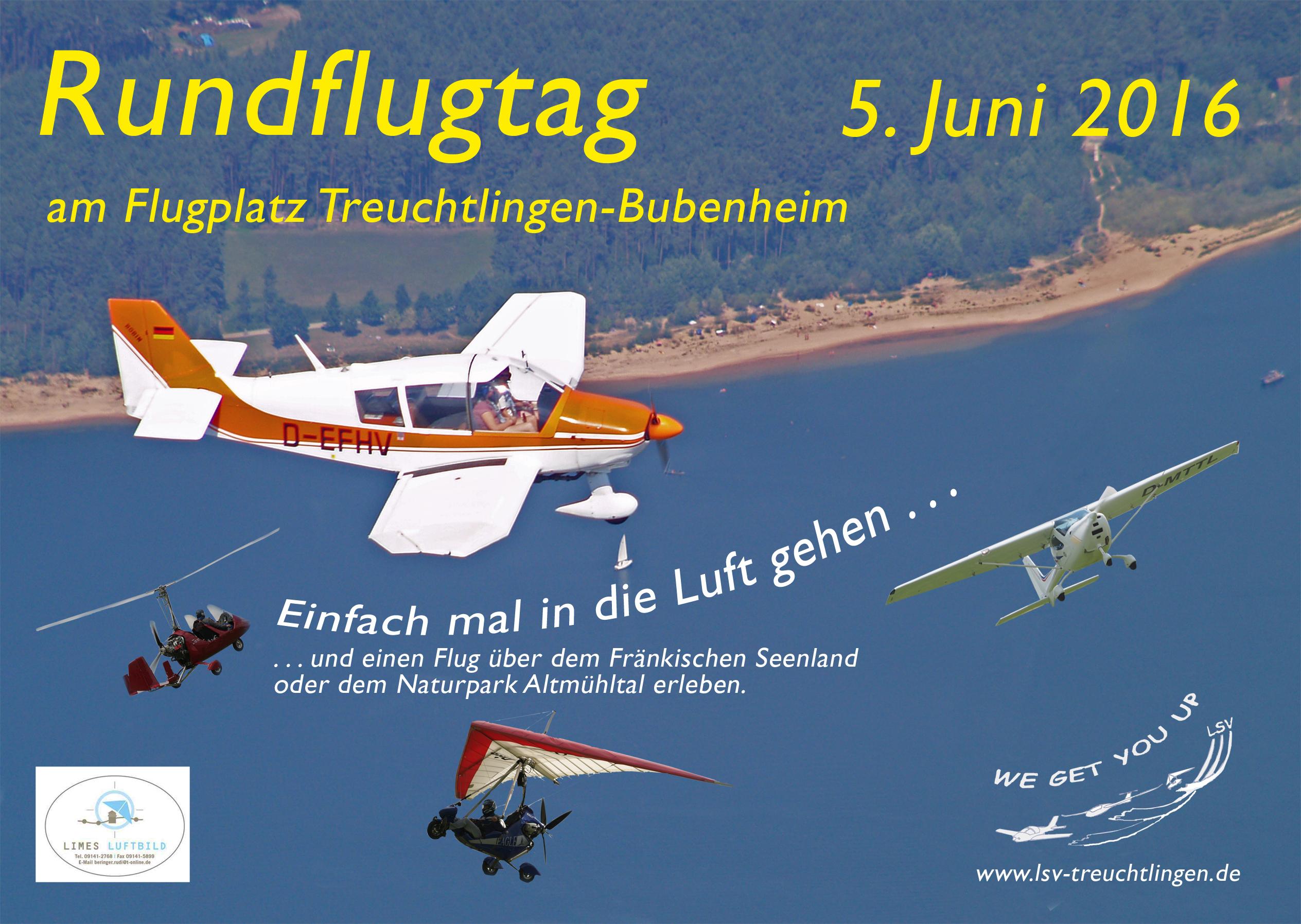 Flyer Rundflugtag DIN A5